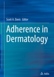 Adherence in Dermatology book cover image.
